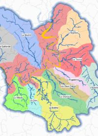 Bassins versant - Cartographie SyBRA